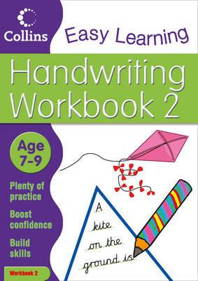 Handwriting Age 7-9 Workbook 2 by Karina Law image