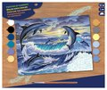 Paint by Numbers - Dolphin Sunrise