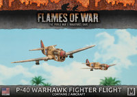 Flames of War: Fighting First - P40 Warhawk Fighter Flight (x2)