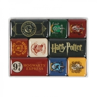 Harry Potter: Magnet - Houses Set (Set of 9)