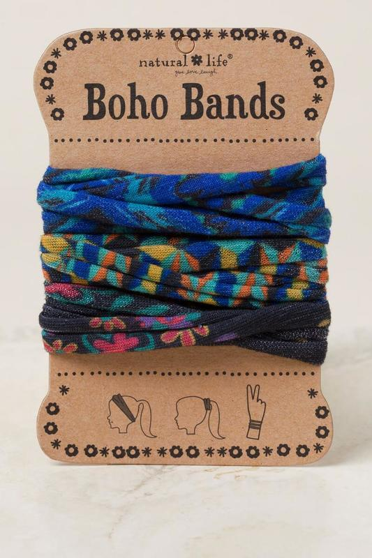 Natural Life: Boho Bands - Turquoise/Gold (Pack of 3)
