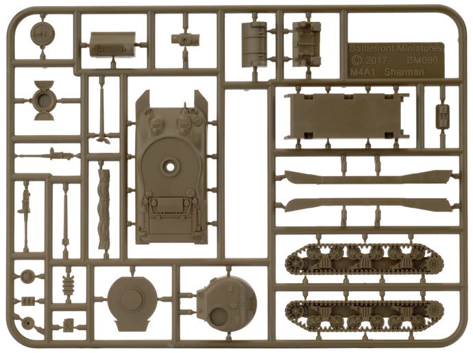 Flames of War: M4 Sherman - Tank Platoon (Plastic) image