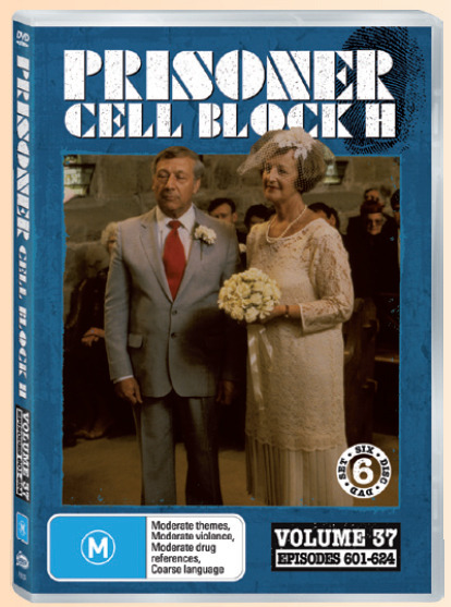 Prisoner Cell Block H: Vol. 37 - Episodes 601 -624 (6 Disc Set) on DVD