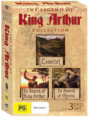 The Legend of King Arthur - Collection (3 Disc Set) on DVD
