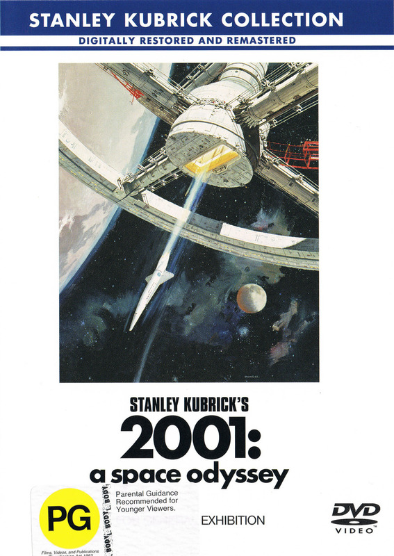 2001: A Space Odyssey on DVD