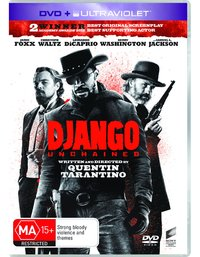 Django Unchained on DVD