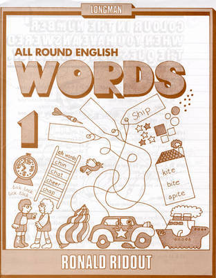 All Round English Words 1: Bk. 1: Words by Ronald Ridout image
