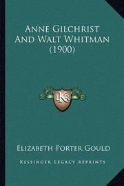 Anne Gilchrist and Walt Whitman (1900) by Elizabeth Porter Gould