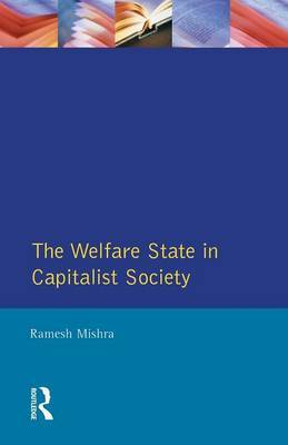 Welfare State Capitalst Society by Ramesh Mishra image