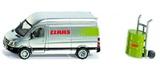 Siku: Claas Service Sprinter - Mercedes Sprinter