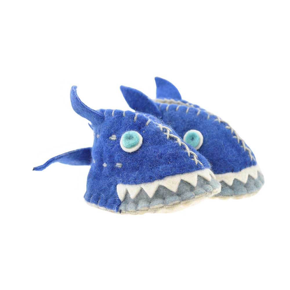 Woolie Slippers - Shark image