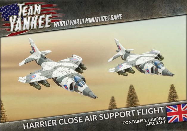 Flames of War: Team Yankee - Harrier Flight