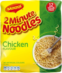 Maggi 2-Minute Noodles - Chicken (12 Pack)