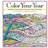 Color Your Year Engagement Calendar 2017 by Workman Publishing