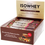 IsoWhey Meal Replacement Bar - Chocolate (62g x 12)