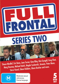 Full Frontal - Series 2 (5 Disc Set) on DVD image
