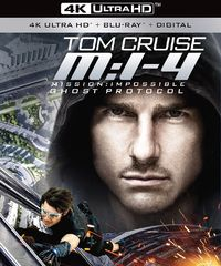 Mission Impossible 4 - Ghost Protocol on UHD Blu-ray