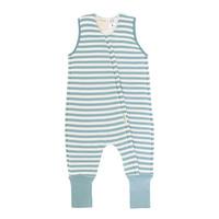 Woolbabe: Duvet Sleeping Suit - Tide (3 Years)