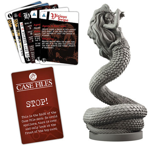 Hellboy: The Board Game - Hecate Expansion image