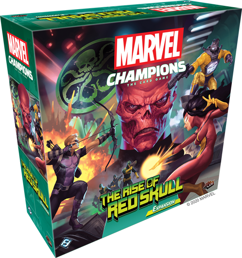 Marvel Champions: The Rise of Red Skull Campaign Expansion