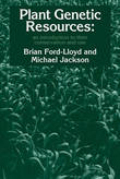 Plant Genetic Resources by Brian V. Ford-Lloyd