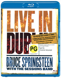 Bruce Springsteen With The Sessions Band - Live In Dublin on