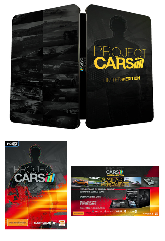 project cars anz limited edition pc game buy now at mighty ape australia. Black Bedroom Furniture Sets. Home Design Ideas