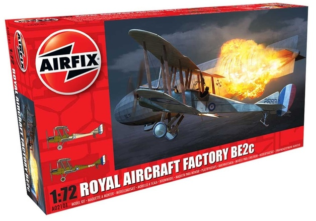 Airfix 1:72 RAF BE2c (Night Fighter) - Model Kit