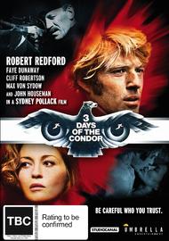 Three Days of The Condor on DVD