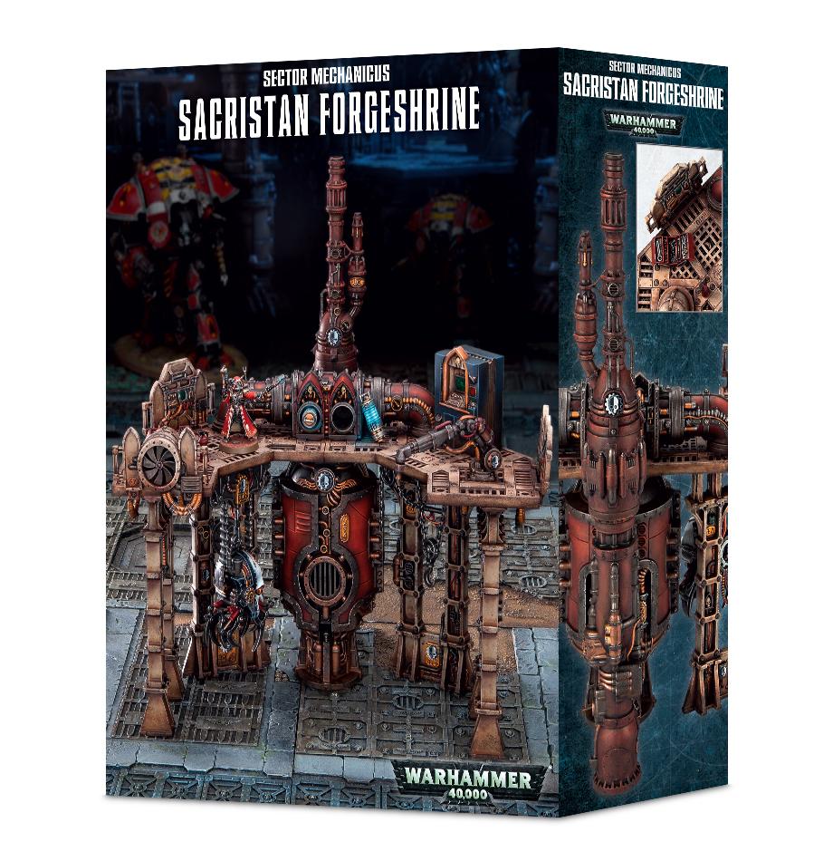 Warhammer 40,000 Sector Mechanicus: Sacristan Forgeshrine image