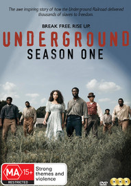 Underground - Season One on DVD