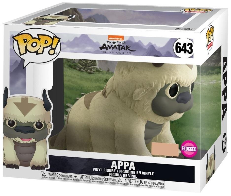 """Avatar: The Last Airbender - Appa (Flocked) - 6"""" Pop! Vinyl Figure image"""