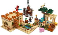LEGO Minecraft: The Illager Raid - (21160)