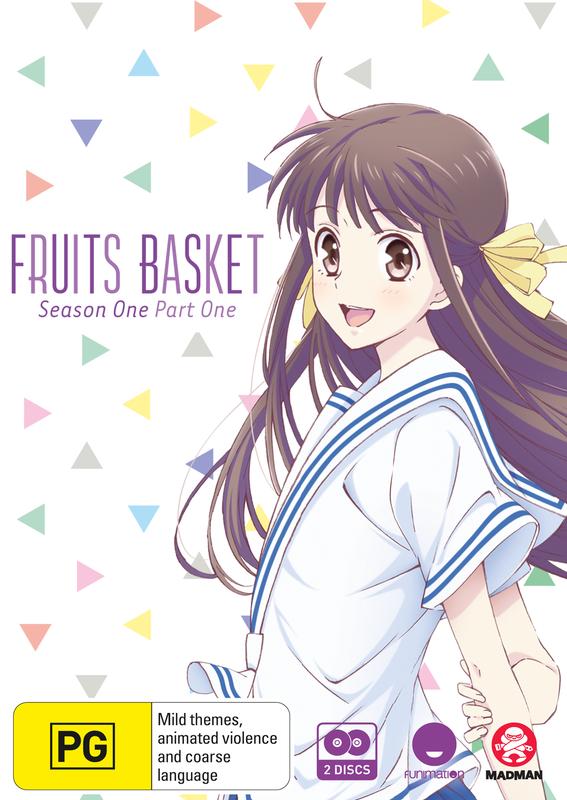 Fruits Basket - Season 1: Part 1 (Eps 1-13) on DVD
