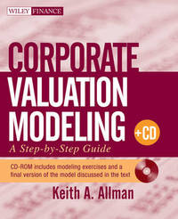 Corporate Valuation Modeling by Keith A Allman image