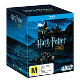 Harry Potter - Complete 8 Film Collection Box Set on Blu-ray