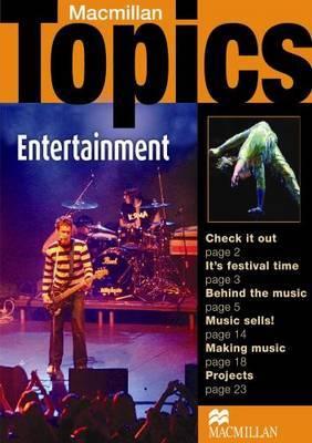 Macmillan Topics Entertainment Pre Intermediate Reader by Susan Holden image