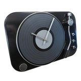 Wall Clock Spin - Black