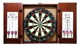 Puma Bristle Dartboard and Cabinet Set