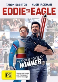 Eddie The Eagle on DVD