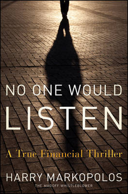No One Would Listen by Harry Markopolos image