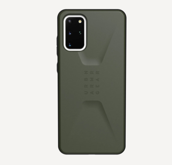 UAG: Civilan for Samsung Galaxy S20+ - Black