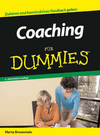 Coaching Fur Dummies by Marty Brounstein