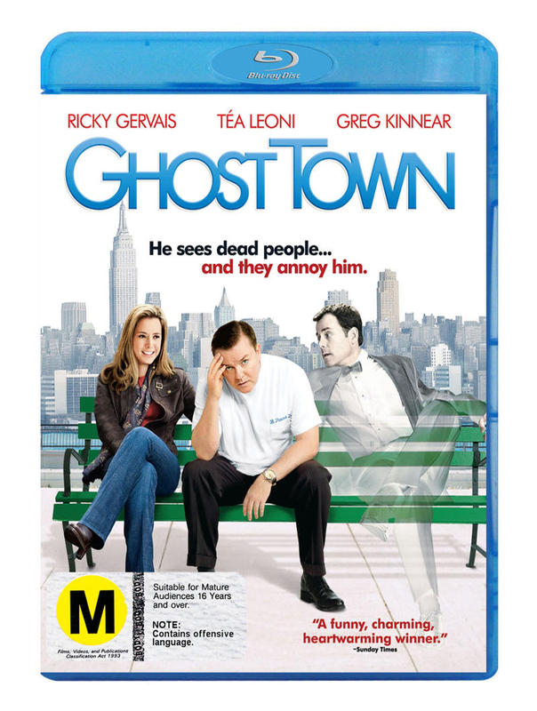 Ghost Town on Blu-ray