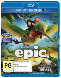 Epic on Blu-ray, UV