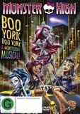 Monster High: Boo York on DVD