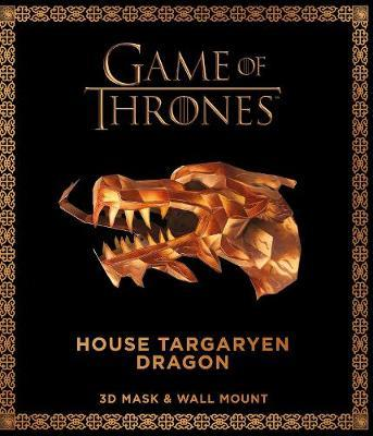 Game of Thrones Mask and Wall Mount - House Targaryen Dragon by Steve Wintercroft image