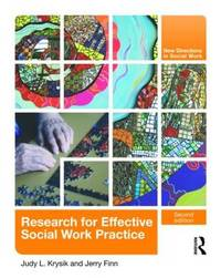 Research for Effective Social Work Practice by Judy L. Krysik image