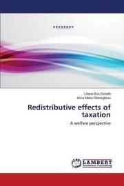 Redistributive Effects of Taxation by Donath Liliana Eva