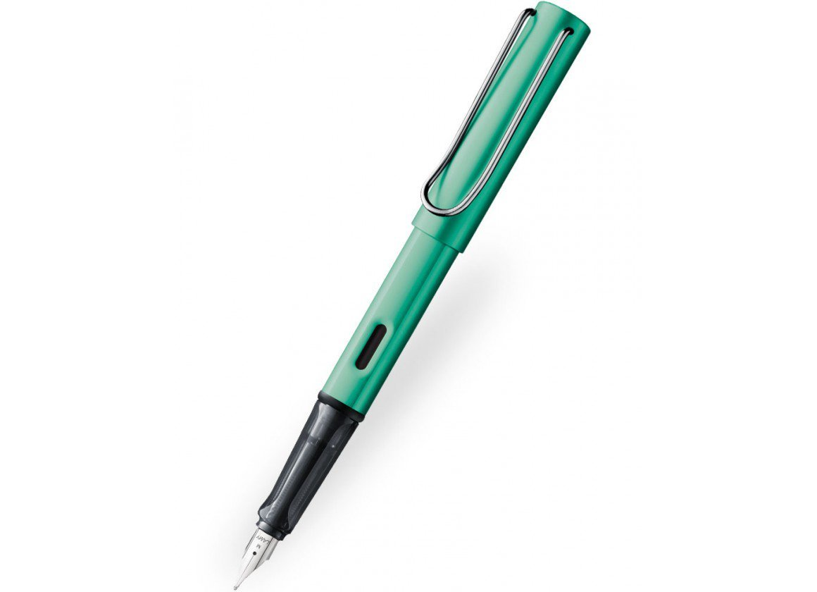 Lamy AL-star Fountain Pen - Blue/Green image
